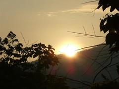 Broga Hill Climb #1 - The Sun Is Rising Over The Hill. (ighosts) Tags: travel friends sky nature sunrise fun climb hiking hills adventure malaysia semenyih wildgrasses brogahill