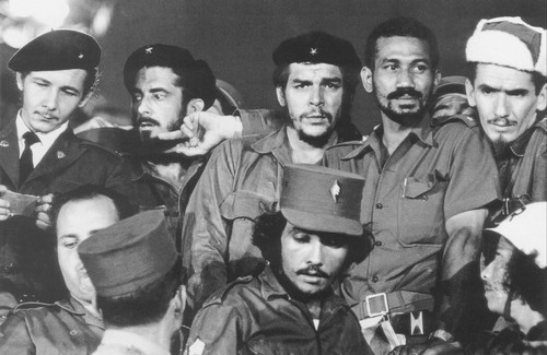 """Los Comandantes de la Revolucion"" are seen in a photograph from 1959, the year their troops ousted the government of Fulgencio Batista and installed Fidel Castro as Cuba's leader. by Pan-African News Wire File Photos"