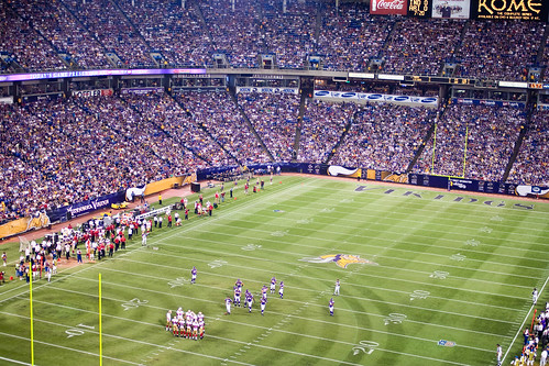 270: Packed Metrodome