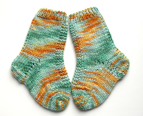 Newborn socks for Kelly's Baby-1