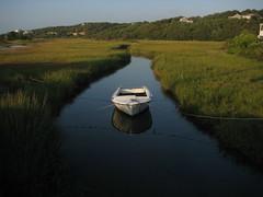 Boat (Bold Willie) Tags: boat marthas vineyard inlet marsh