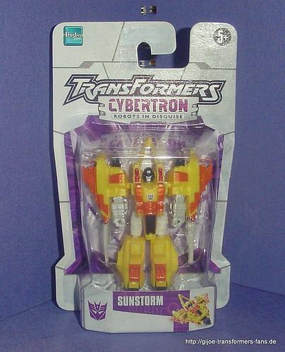 Sunstorm   Cybertron Legends  Transformers 001