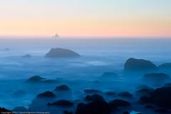 Tillamook Rock Lighthouse at Sunset (dedge555) Tags: longexposure sunset nikon oregoncoast nikkor ecolastatepark 2470mm d700 nikond700 2470mmf28g afsnikkor2470mmf28ged varinduo