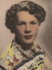 Margaret Elizabeth Lawrie, ca. 1945