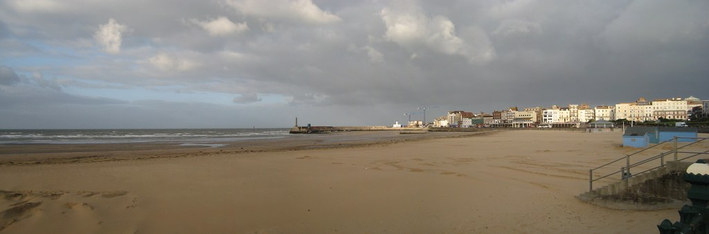 View of Margate bay