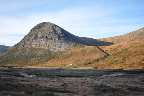The Devils point and Corrour bothy