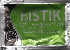 Fıstık 27 Ayar Gaziantep Baklavacısı - Arka