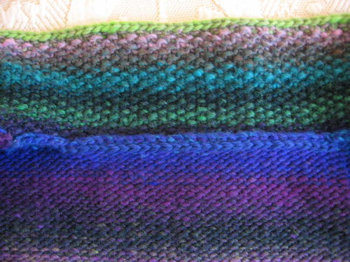 Inside view of crochet