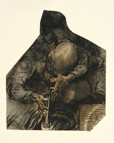 001-El hombre que toca la gaita-Cyprian Kamil Norwid- 1821-1883