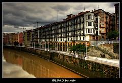 Postcards from Euskadi San Francisco Bilbao (Asi75er) Tags: sanfrancisco city travel clouds photoshop canon eos bilbao elements nubes bizkaia basque vasco euskalherria ria hdr euskadi vizcaya bilbo basquecountry paisvasco photoshopelements 400d canoneos400d