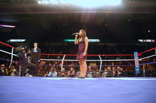 Amanda Kaletsky HBO Boxing National Anthem