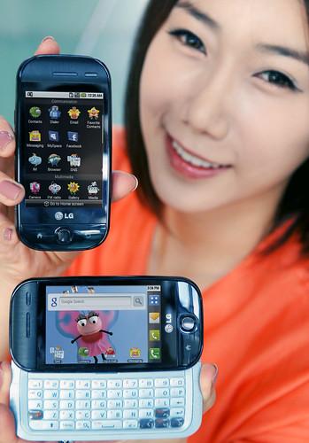 LGEPR님이 촬영한 LG 안드로이드폰 첫 출시.