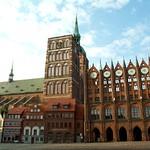 Stralsund: City Hall and St.Nicolas' Church