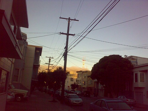 morning run / sutro tower