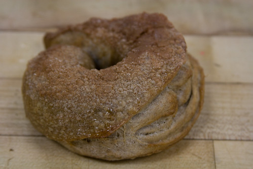 Chai Bagel w. Cinnamon Sugar