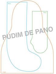 Molde_priminhas (pudim_de_pano) Tags: artesanato molde bonecadepano