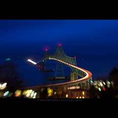 OR <-> WA (alter your reality) Tags: city longexposure bridge night lensbaby canon landscape outdoors photography lights town washington nightscape astoria 5d composer pacificnw megler alteryourreality colorphotoaward jarekszymanski