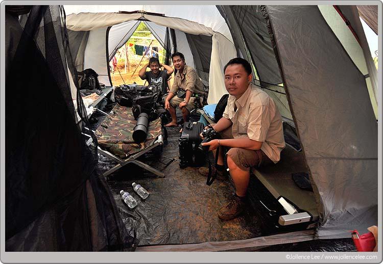 Camping At Bidu bidu forest reserved