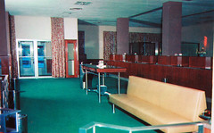 union fedral (alandberning) Tags: county downtown union bank indiana lobby postcards evansville fedral vanderburgh