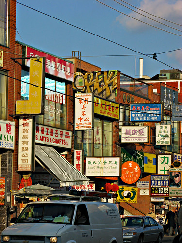 toronto chinatown by paxpuig, on Flickr