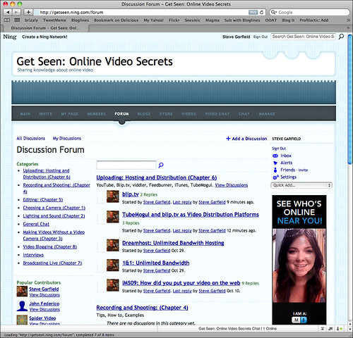 Get Seen: Online Video Secrets - Site