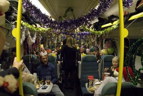 The Brighton Train party