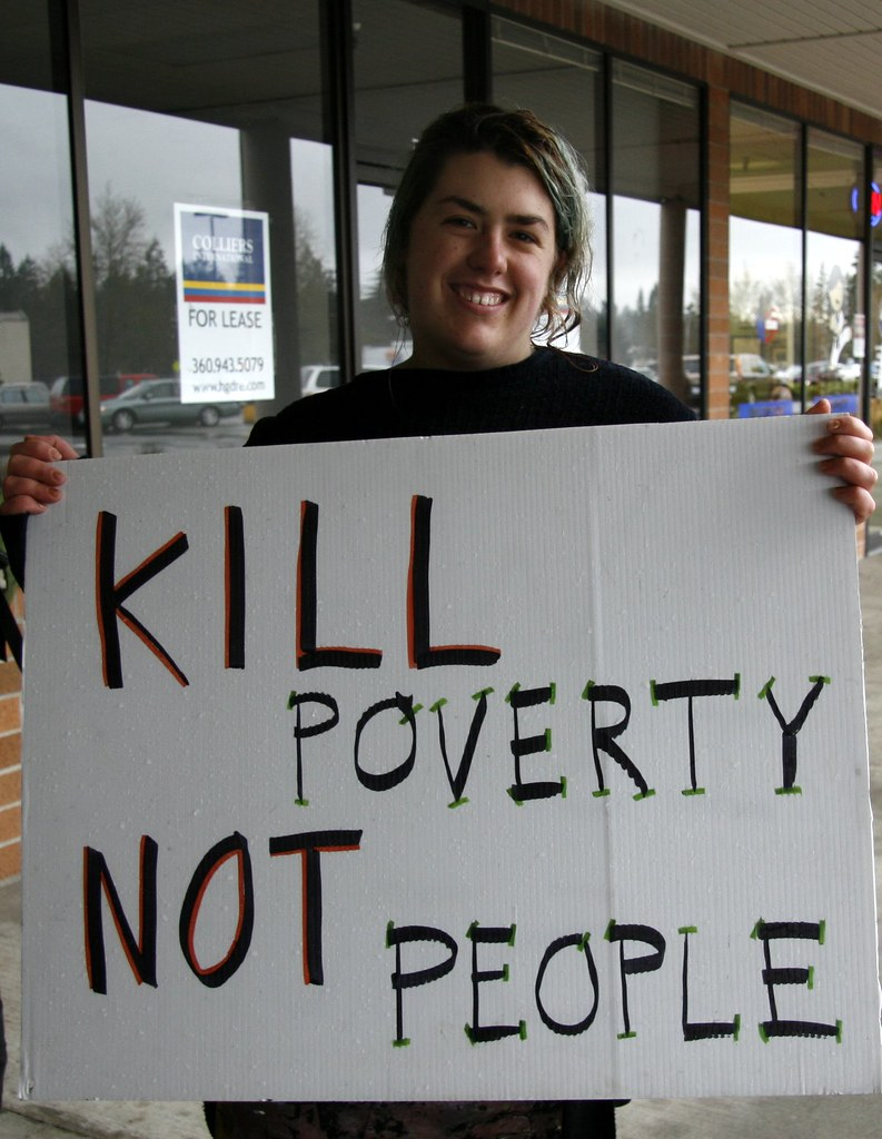 Kill Poverty, Not People