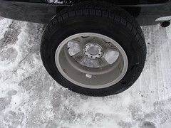 パンク! そのタイヤの内側