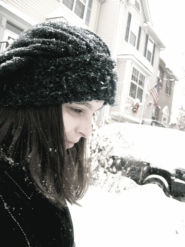 Selfie in the Snow 1 -- Manip