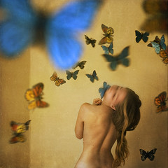 an asylum for metamorphosis (brookeshaden) Tags: birthday selfportrait one blog flickr year asylum metamorphosis brookeshaden texturebylesbrumes