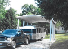 SteelMaster Steel RV Carport