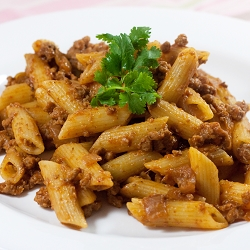 Korean Style Spicy Penne