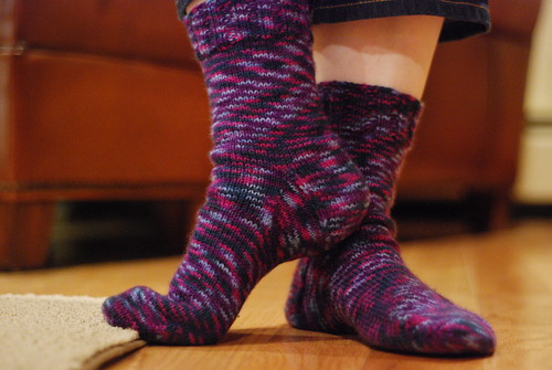 new socks (by aswim in knits)