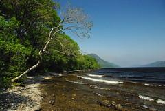 Waves on Loch Ness