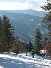 Dieter in the distance (kendrahw) Tags: colorado boulder dieter flagstaffmountain