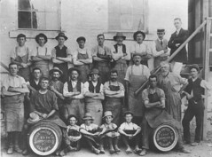 Dallinger Collection - Albury Border United Breweries workers - Albury, NSW (MAMA & LibraryMuseum) Tags: collection photographs albury dallinger