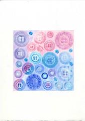 2011_05_13_hydrangea_07 (blue_belta) Tags: drawing hydrangea coloredpencil