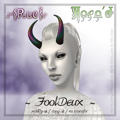 {Rue} AD Horn'd Style FoolDeux