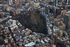 Cerro Santa lucía - Santiago de Chile (Fabro - Max) Tags: chile aerialview sudamerica santiagodechile vistaaerea vistaaérea santiagodochile skyscrapercity regiónmetropolitana southameria