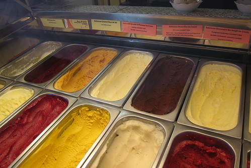 Delicieuse: Assorted Ice Cream in Freezer