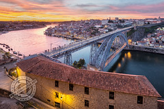 Porto, Portugal (Adam Zoltan) Tags: bridge city cityscape domluis douro downtowndistrict europe europeanunion evening famousplace historical horizontal iberianpeninsula landscape outdoor outdoors panorama ponteluiz popular porto portugal portuguese ribeira river riverbank riverside sights sunset tourism touristattractions travel traveldestination urbanscene view canoneos6d canonef1635f4lisusm adamzoltan httpadamzoltannet