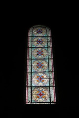 Stained glass @ Eglise Notre-Dame d'Auteuil @ Paris 16 (*_*) Tags: paris france europe city winter february 2017 saturday afternoon 16 paris16 75016 eglisenotredamedauteuil auteuil church christian catholic stainedglass