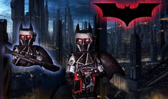 "Entry to Kaiju Dan's Contest: ""The Bat of Corusant"" (I P R I M E I) Tags: lego starwars batman custom moc"