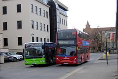 Cheltenham (Hesterjenna Photography) Tags: lx11bju bk10mvl psv bus coach stagecoach stagecoachlondon decker alexanderdennis cheltenham cheltenhamraces bennetts enviro400