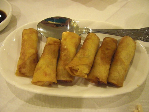 Veggie Spring Rolls @ Four Seasons