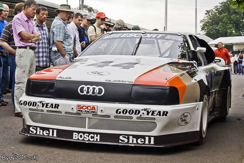 1988 Audi Quattro. This 1988 Audi 200 Quattro Trans Am was used in the 1988 trans am championship where it won the title for Audi of America. Audi claimed 8 of the 13 events.