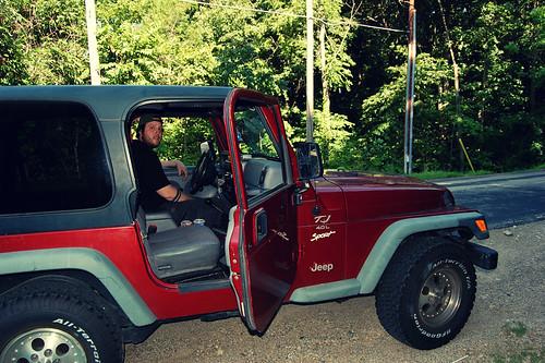 Nice Jeep, man!