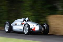 Auto Union Silver Arrow (GriBBsY) Tags: car silver bikes arrow goodwood hillclimb autounion motorsport festivalofspeed
