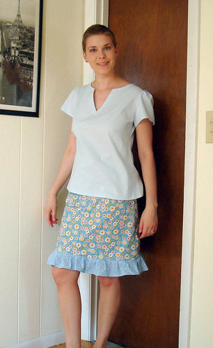 Sew U skirt + WS blouse 1