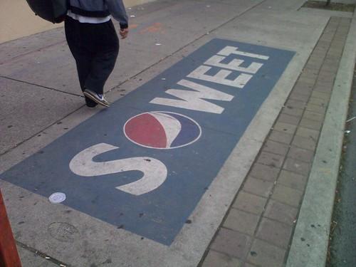 Pepsi, Word Play Campaign, Toronto